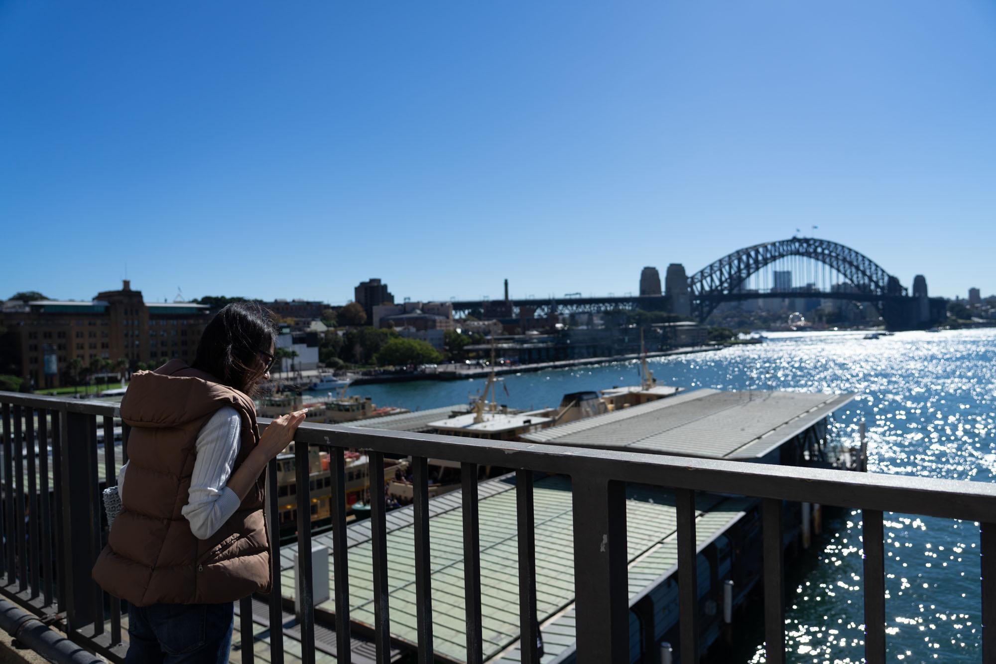 シドニーサーキュラーキーの風景